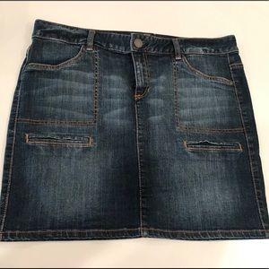 Tommy Hilfiger Jean skirt size 12 vintage blue